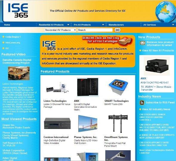ISE365.eu - neues AV Portal geht online