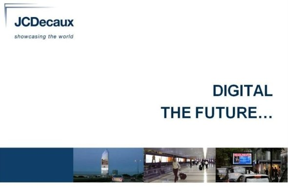 JCDecaux Präsentation zur ISE DooH Konferenz