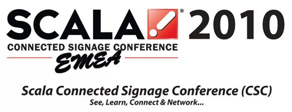 Scala Connected Signage Conference