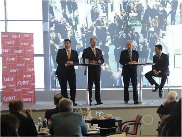 Abschließende Pressekonferenz CeBIT 2010