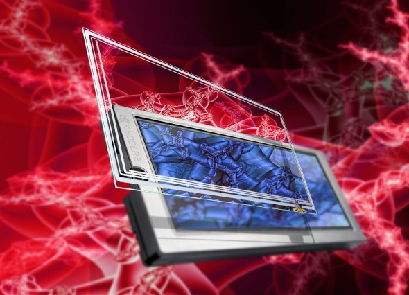 Kyocera Glas Glas Touchpanel