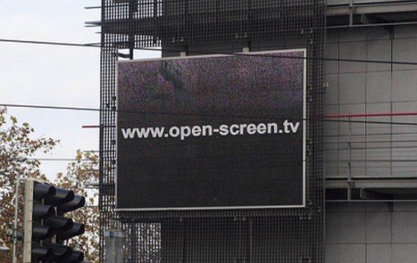 Karlsruher Open Screen TV