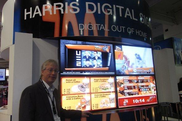 Für Ian Collins von Harris ist der Markt nun reif