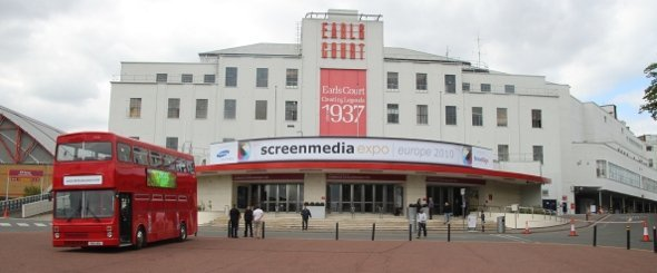 Screen Media Expo 2010 vor der Eröffnung