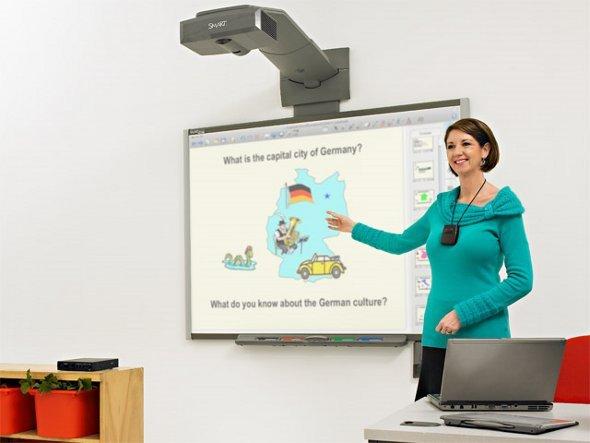 Das Klassenzimmer wird Digital (Foto: smart)