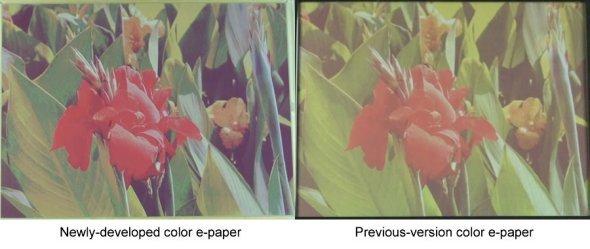 Fujitsu Color E-Paper