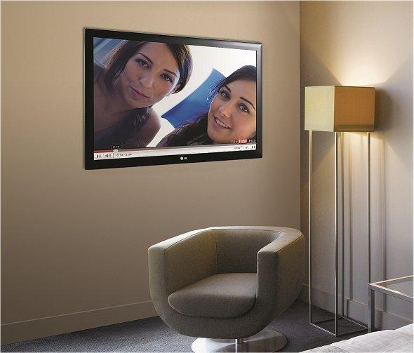 LG Hotelzimmer TV