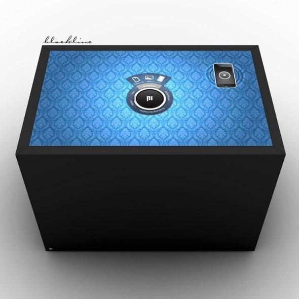 Markenkonstrukt Touchdesk Pi