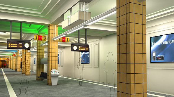 Wall AG Virtueller Bahnhof