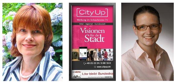 Cityup Management Team Helga Ebel-Gerlach und Anne Nölling