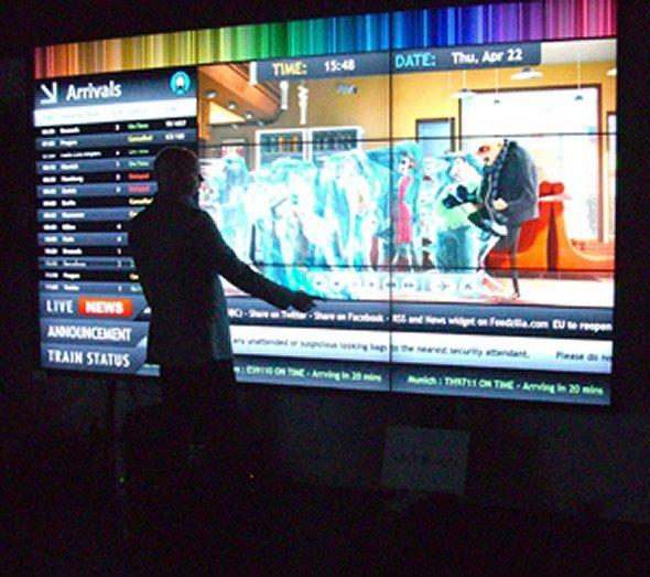 Mobile Videowand Unicol BBC