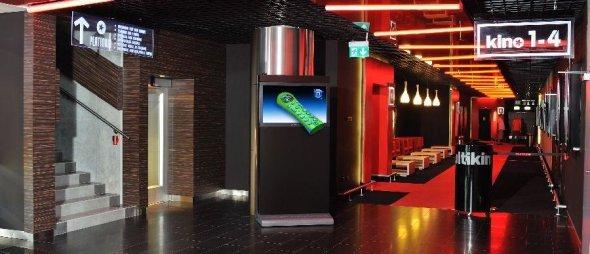 Multikino 3D-Werbung