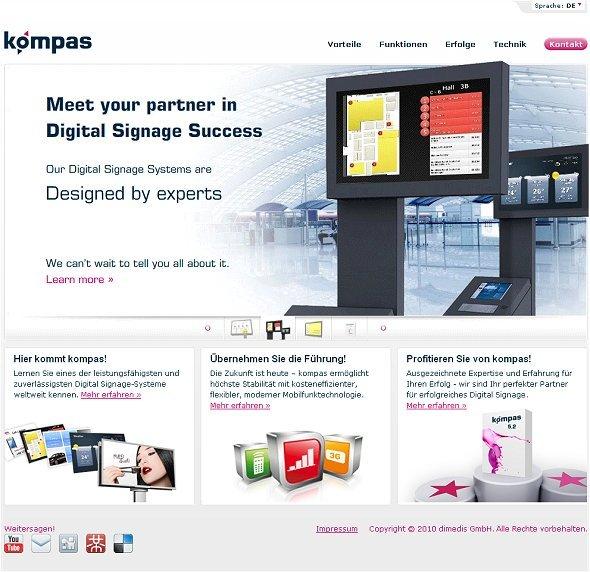 kompas-Website