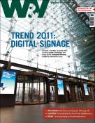 W&V Digital Signage Titelthema