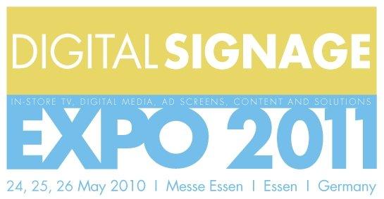 Digital Signage Expo 2011 Essen zieht zurück in den Mai