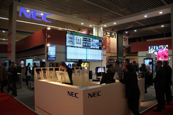 ISE 2011: NEC präsentierte sich auf vergrößerter Fläche