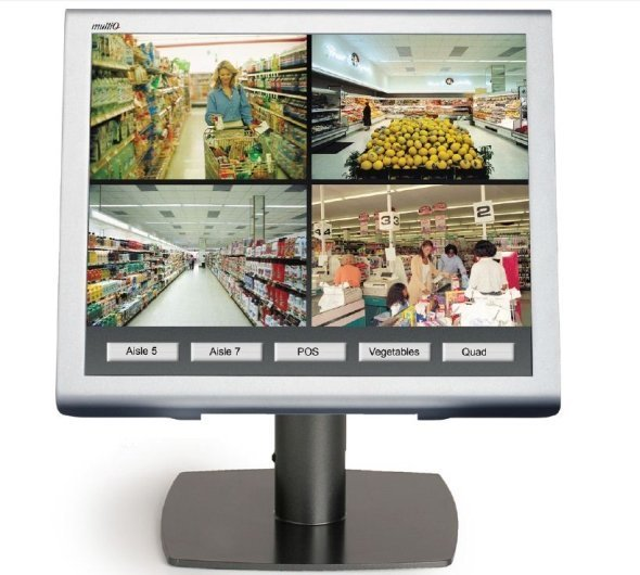 MultiQ kombiniert Digital Signage mit Physical Security