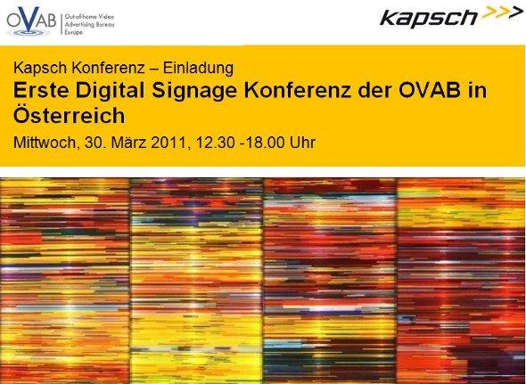 2011 OVAB Kapsch Austria Regional Conference