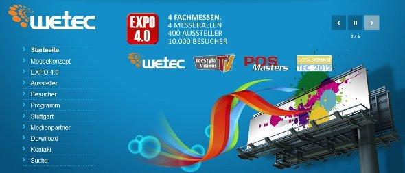 Expo 4.0 Wetec, Digital Signage Tec und mehr