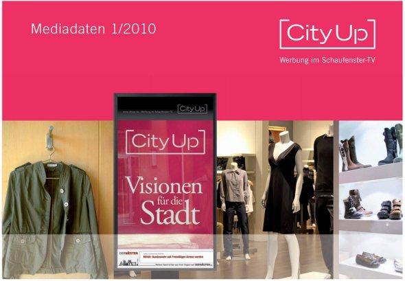CityUp Schaufenster TV