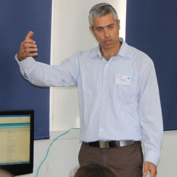MDS Entwicklungsleiter Mordy Hilu erklärt ide Produkte der Zukunft