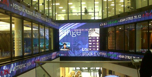 London Stock Exchange mit 508 MicroTiles