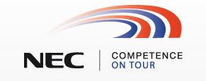 NEC Competence Tour 2011