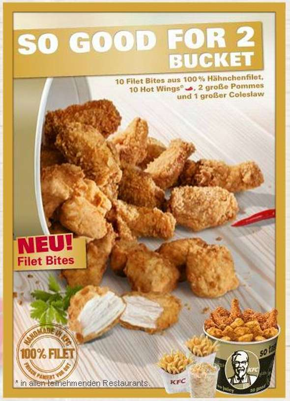 Neues Instore-TV Konzept bei KFC