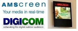 Amscreen übernimmt Digicom Vertrieb