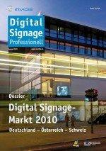 So groß ist der deutschsprachige Digital Signage Markt?