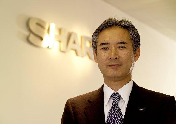 Hiroshi Sasaoka, CEO Sharp Electronics Europe