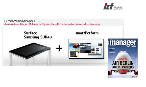 ict AG startet 2012 Werbeoffensive im Manager Magazin