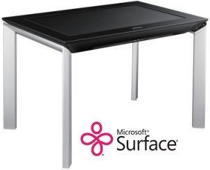 Trägt den gleichen Namen: Samsungs Surface SUR40