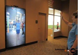 DiSCO 2012: Kinect Steuerung im Fitness-Studio