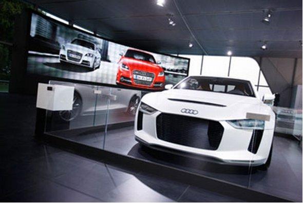 Christe Microtiles nun auch bei ausgewählten Audi Präsentationen