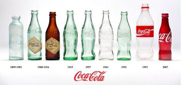 Coke-Flaschen verändern sich – die Konsumentenansprache ebenfalls (Foto: Coca Cola)