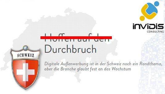 Durchbruch für DooH in der Schweiz