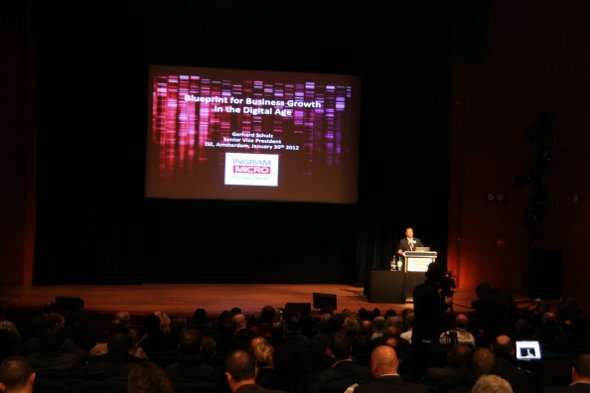 ISE Keynote - Mike Blackman eröffnet Veranstaltung