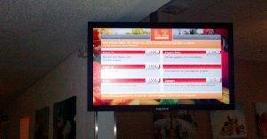 LZ-Catering setzt in Neu-Isenburg auf die digitale Speisekarte
