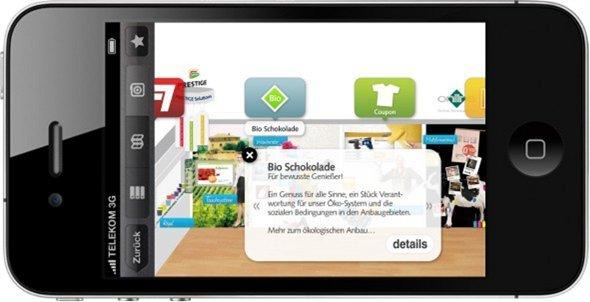 Augmented Reality soll Werbeformen am POS verbinden