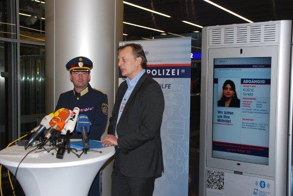 Vorstellung der Kooperation von Wiener Polizei und Digilight