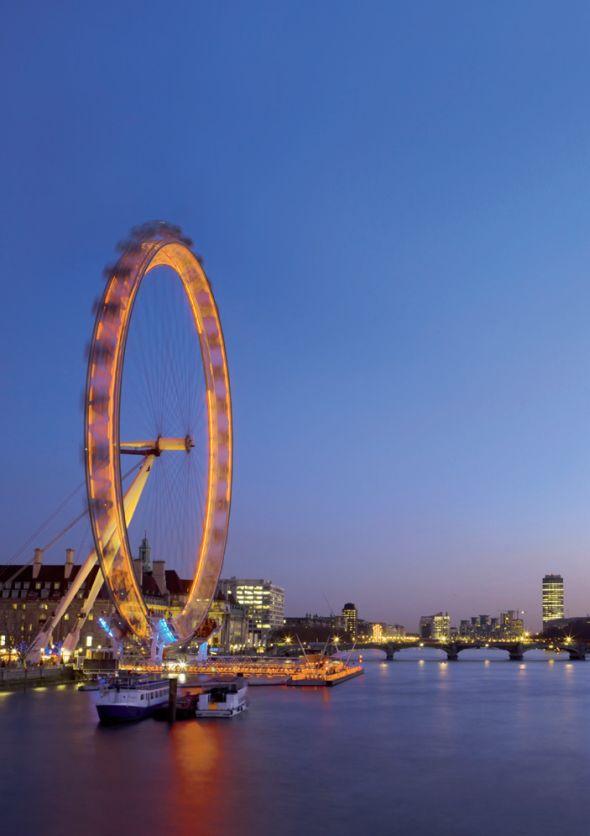 Bouncepad dreht großes Rad: London Eye mit Galaxy Tablets