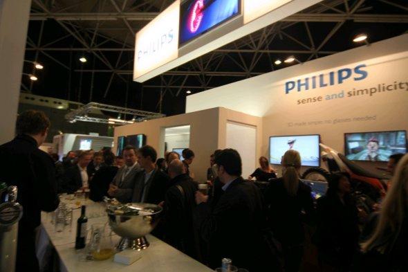 Großer Andrang bei Philips auf der ISE