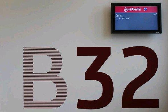FIDS Displays am Gate (Foto: Air Berlin)