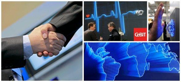 CeBIT 2012: Managing Trust und Digital Signage