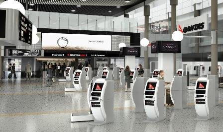EYE installs interacitve DooH in Qantas Domestic Terminals