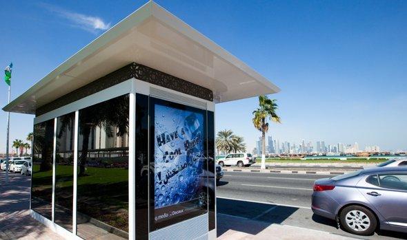 Bald auch Bushaltestellen in Oman: JCDecaux schließt 20-Jahres Vertrag ab