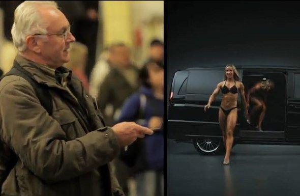 Mercedes WallDecaux DooH-Kampagne