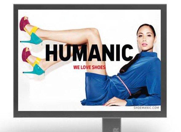 Humanic setzt auf Outdoor Werbung
