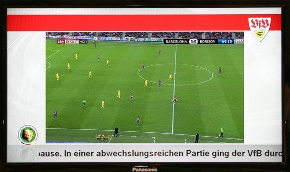 Mercedes-Benz Arena Stuttgart setz auf IPTV und Digital Signage